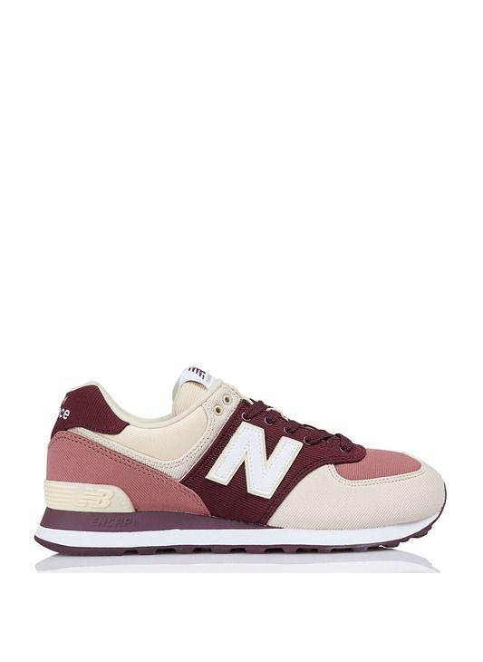 new balance 574 rouge femme
