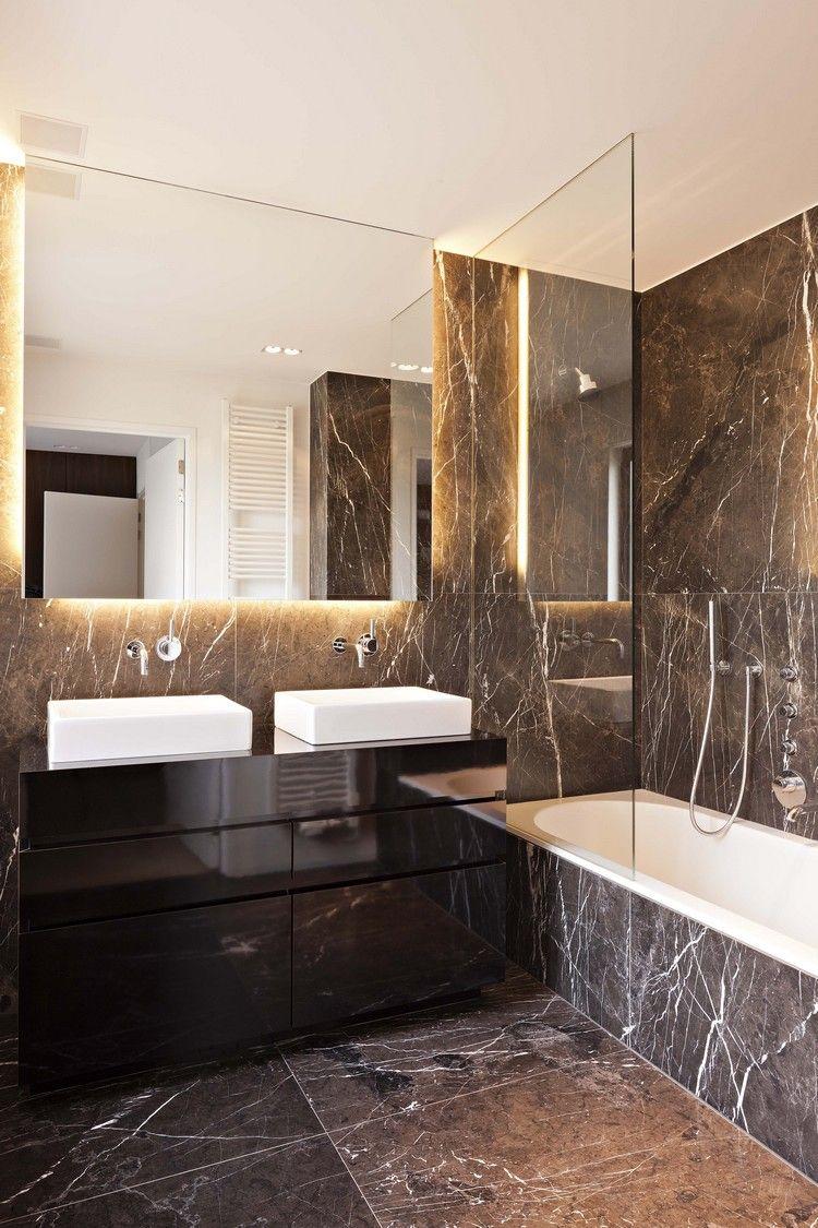 Marmor Im Badezimmer Modern Inszenieren 40 Ideen Fur Ein Minimalistisches Bad Quickthemes 40 Shabby Chic Badezimmer Minimalistische Bader Badezimmer Design