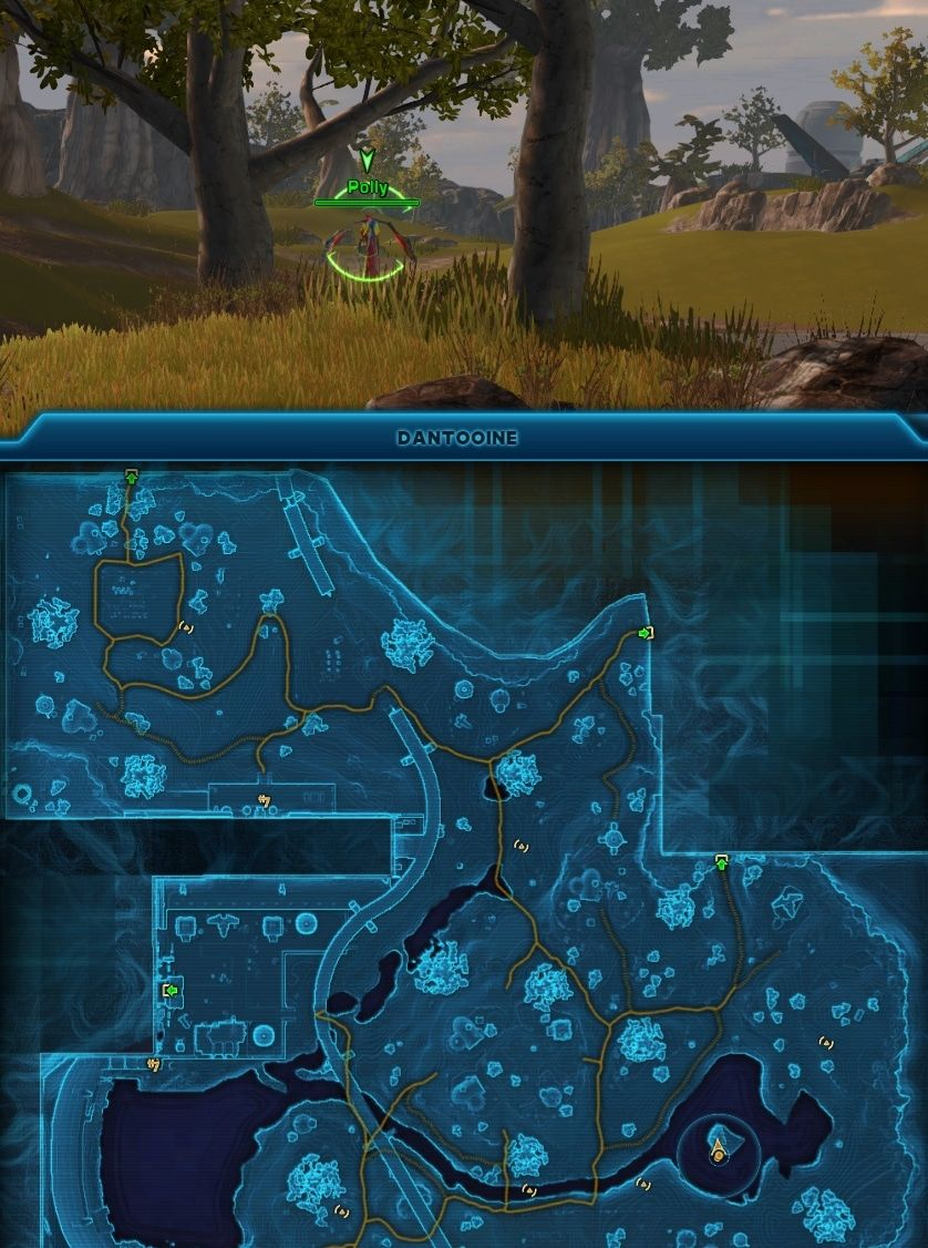 Swtor Dantooine Missions And Achievements Guide The Old Republic Missions Jedi Enclave