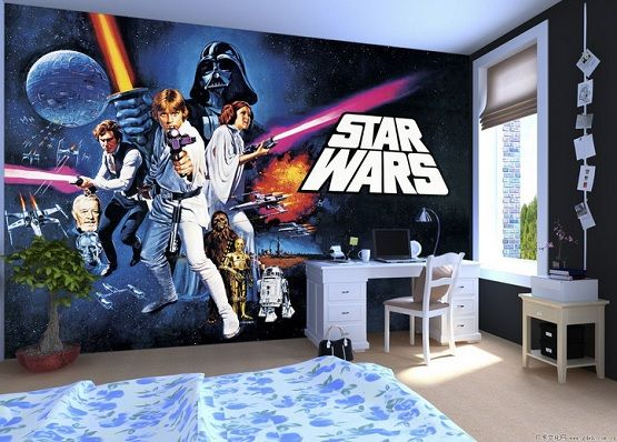 Wall Murals Star Wars Room Decor Home Interiors Star Wars Room Decor Star Wars Bedroom Star Wars Room