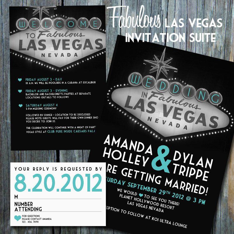 Fabulous Las Vegas Invitation Suite