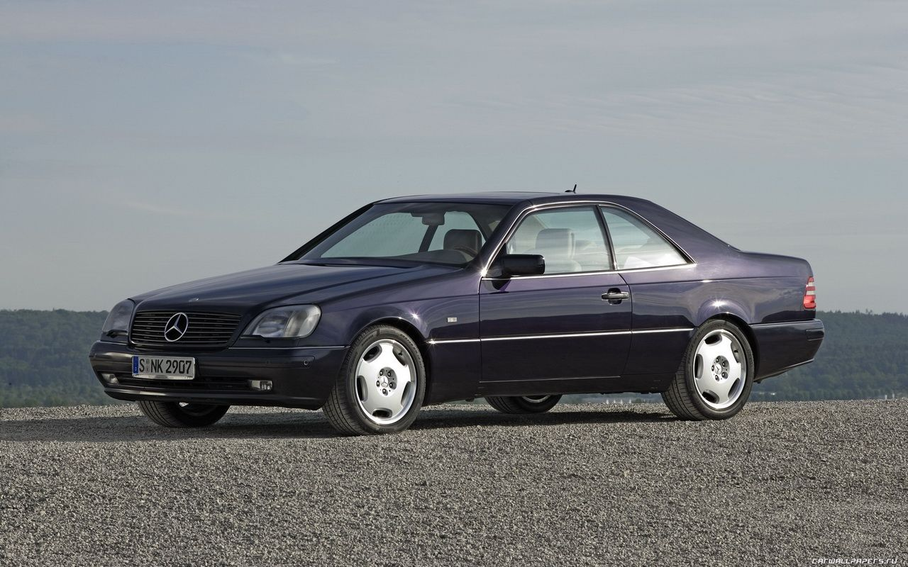 General information photos engines and tech specifications for mercedes benz cl coupe 1998
