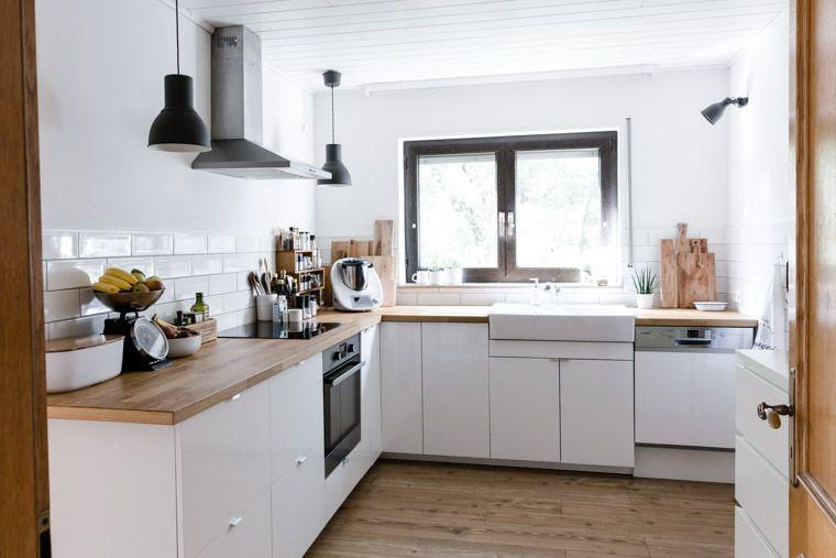 Unsere Küche {Tipps für eine gemütlichere Küche   Ikea küche, Ikea ...