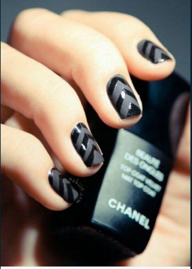 Excepcional Chanel Mate Esmalte De Uñas Blanco Patrón - Ideas de ...