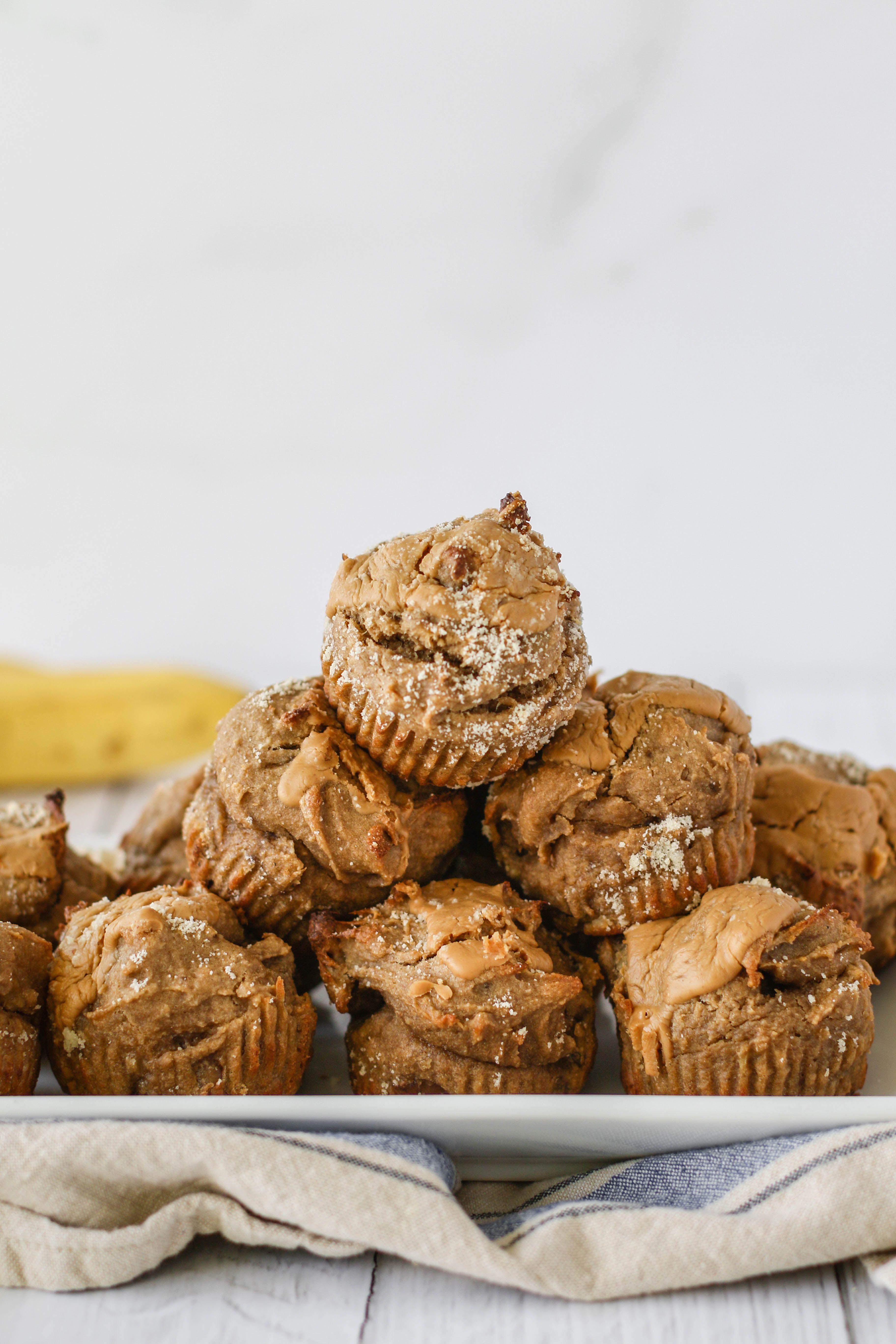 Peanut Butter Banana Bread Swirl Muffins Recipe Peanut Butter