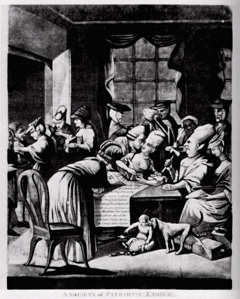 The Roles of Women in the Revolutionary War | British ...