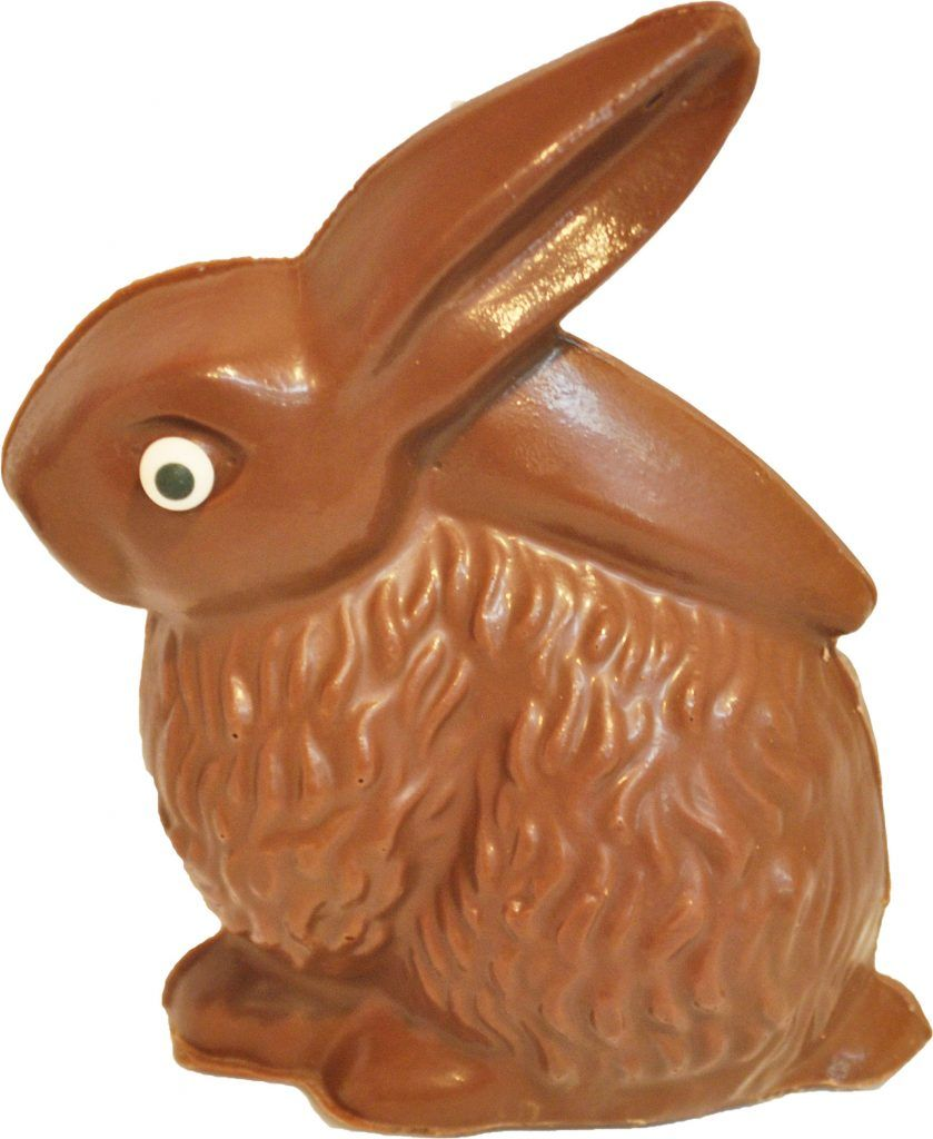 Allergyfriendly easter chocolate featuring skips nut