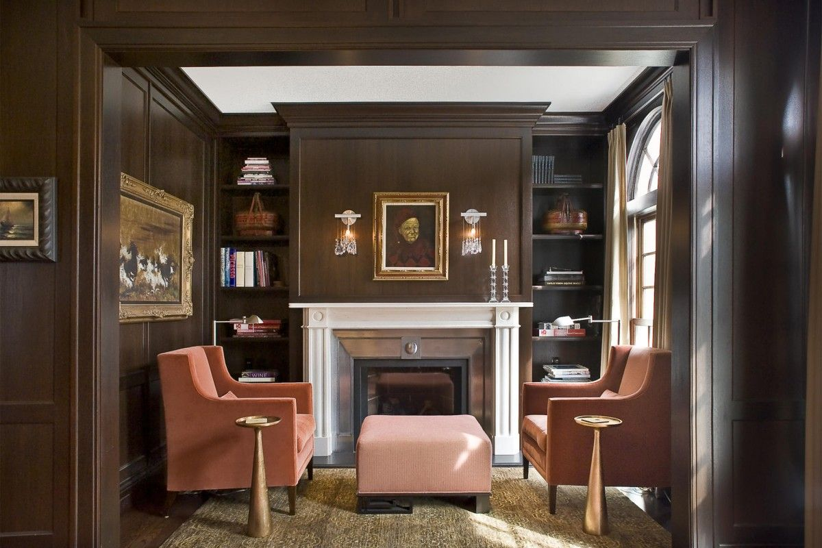 Design badezimmerschrank ~ Presidio heights transitional reading room design by marla schrank