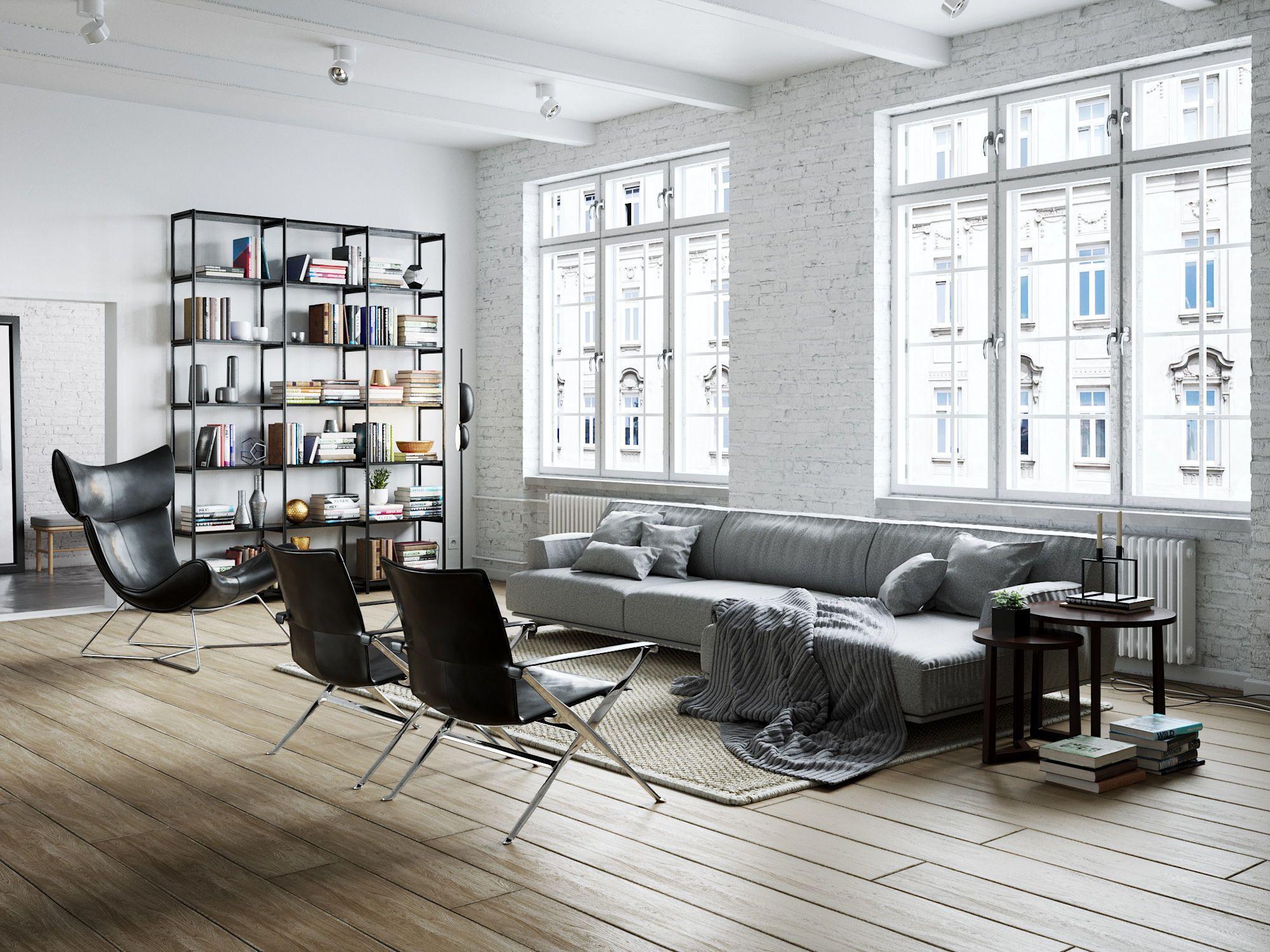 Living Room Interior Scene for Cinema 4D and Corona