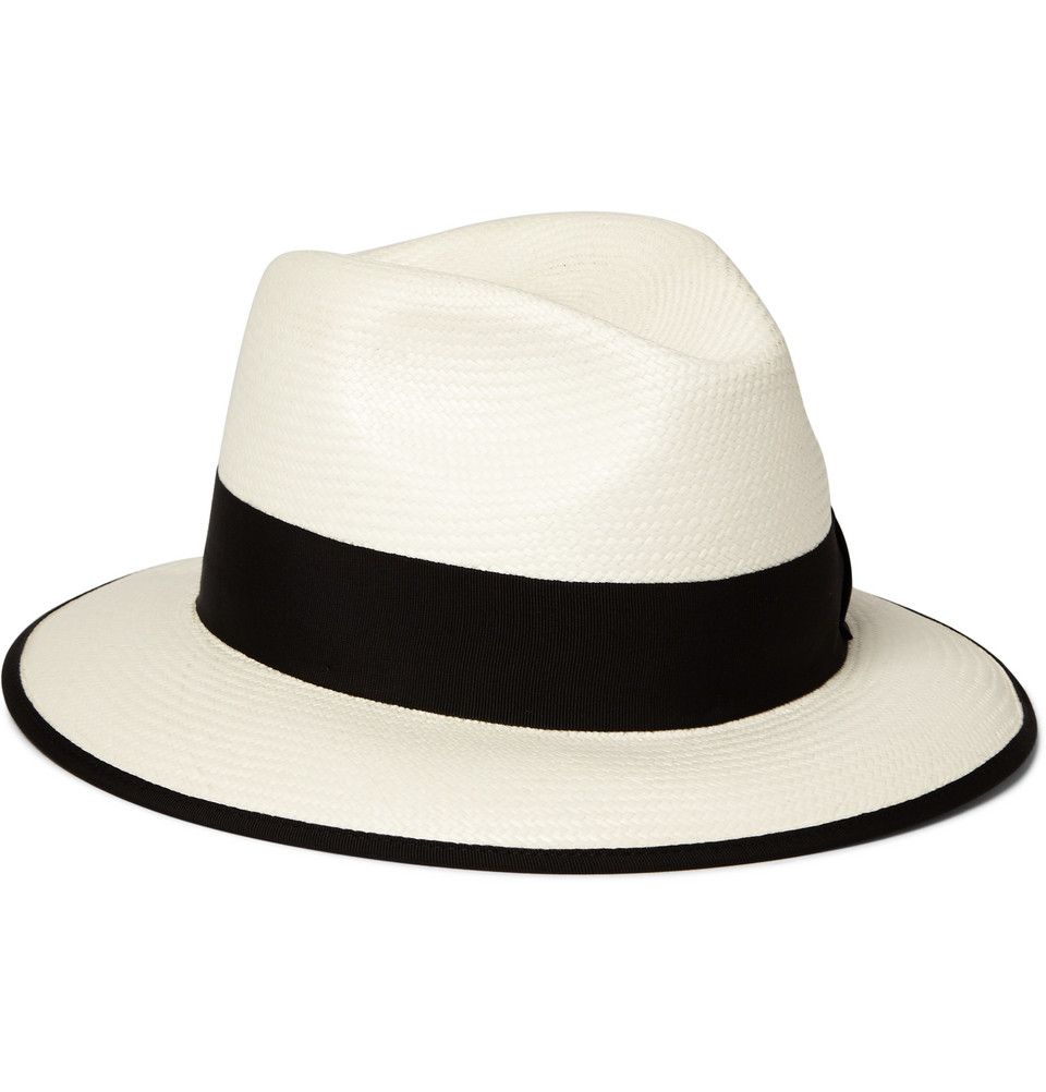 Gucci - Woven-Straw Panama Hat   MR PORTER   Clothing Accessories ... fc314a7310b
