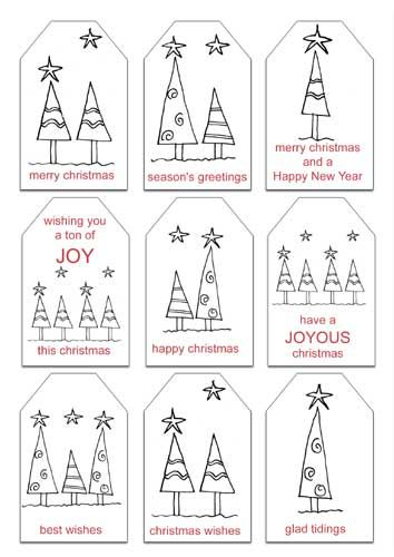 Xmas tags to color free printable tags pinterest free free christmas printables gift tags and notepaper with envelopes negle Gallery
