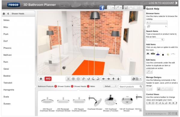 badezimmerplaner online 3d raumplaner visualisierung badgestaltung ...