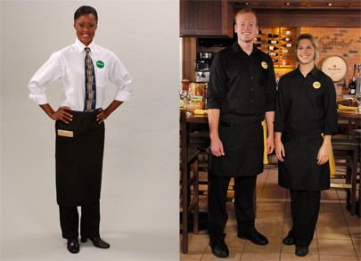 Olive Garden S New Modern Black Uniforms Casual Shirts