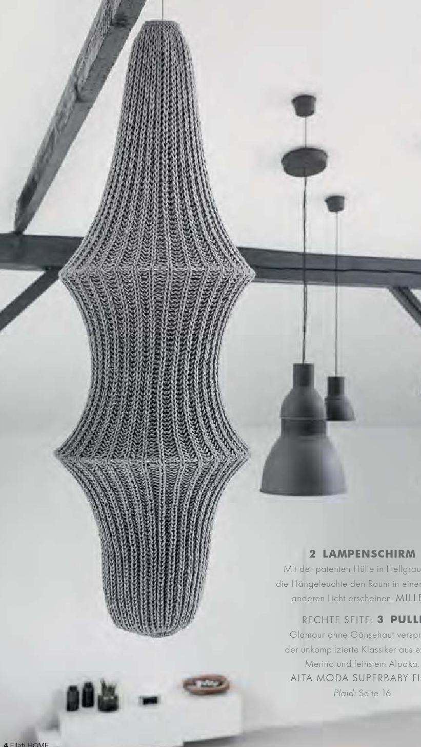 ISSUU - Lana Grossa FILATI Handstrick No. 62 (Home) by FILATI Wolle-Handstrick-Mode