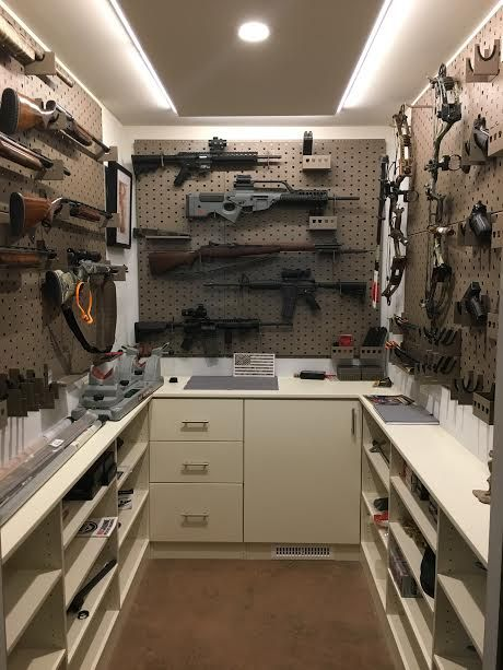 Gun Room Storage Gear Organization Reloading Room Gun
