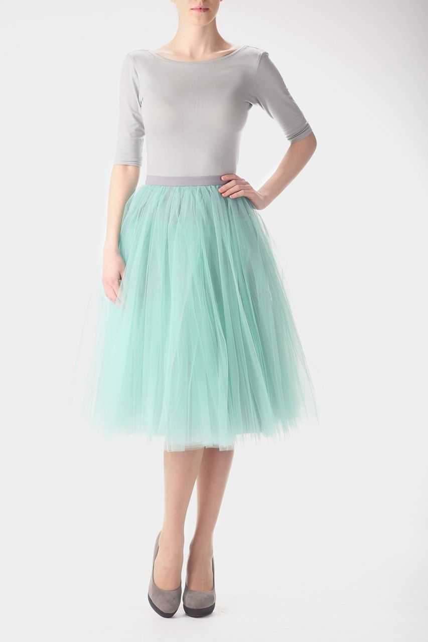 Mint tulle skirt, carrie bradshaw inspired tutu, sex and the city ...