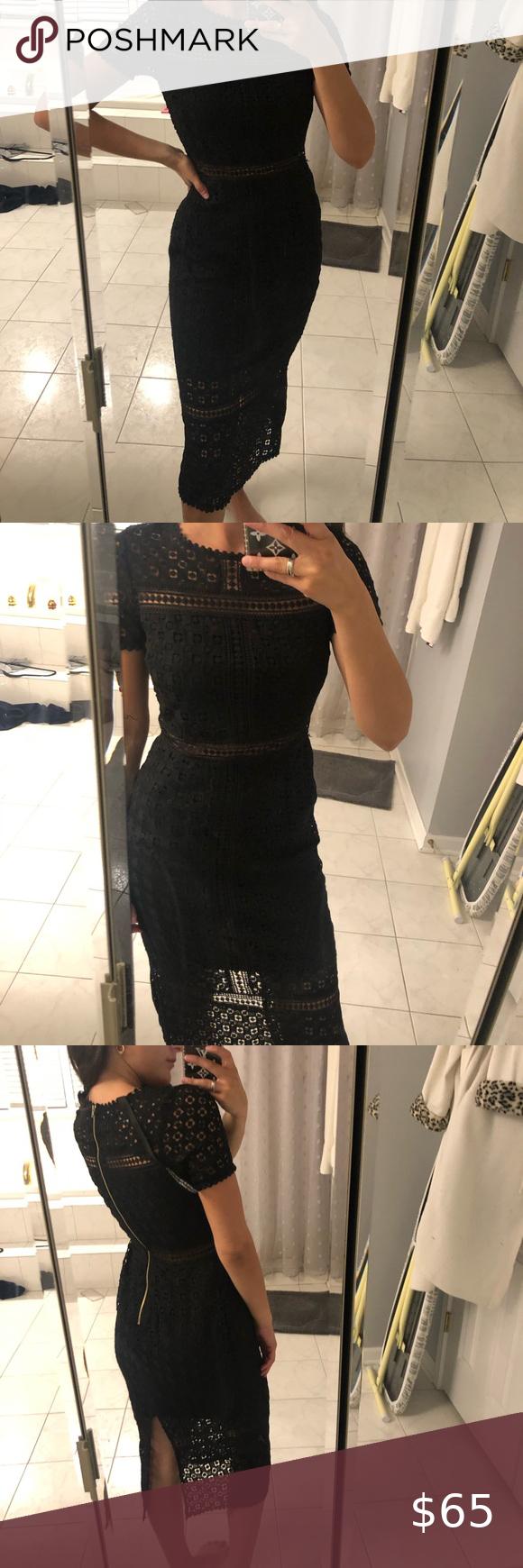 Pretty Little Thing Black Midi Lace Dress Black Lace Midi Dress Lace Midi Dress Lace Dress [ 1740 x 580 Pixel ]