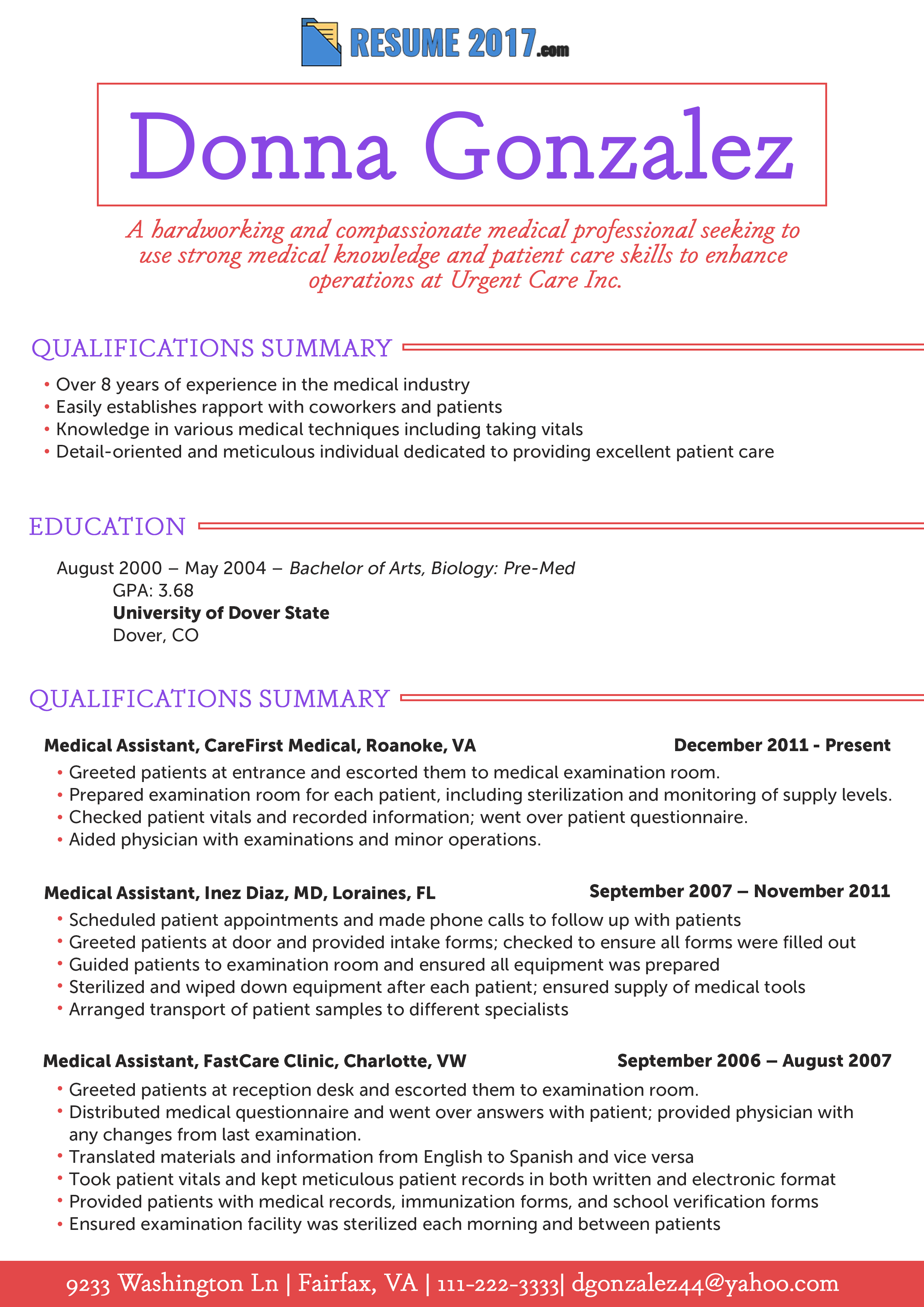 Having Problems With Your Resume This Pa Resume 2018 Example Can Help You Solve Them Get More Samples He Best Resume Format Medical Knowledge Resume Examples