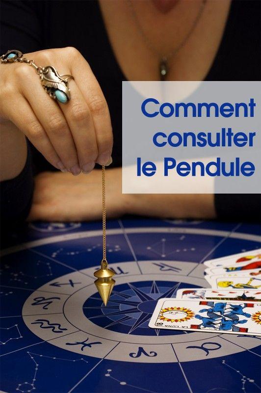 9d5b8f88ae9b27 Comment consulter le Pendule   cartomancie   Pinterest   Le pendule ...