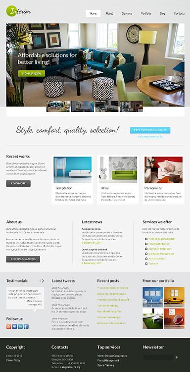 wp interior design theme | Website Design | Pinterest | Website designs