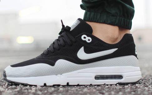 Nike air max 1 ultra moire – black white in 2019