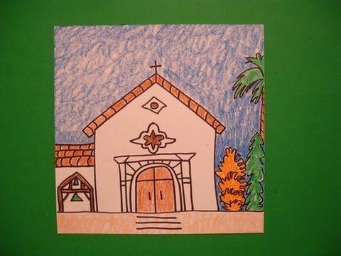 Let's Draw Mission San Rafael!