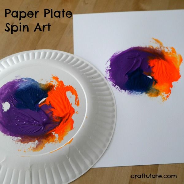 Paper plate spin art is a fun process art technique that creates some really interesting prints & Paper Plate Spin Art | Painting activities Activities and Process art