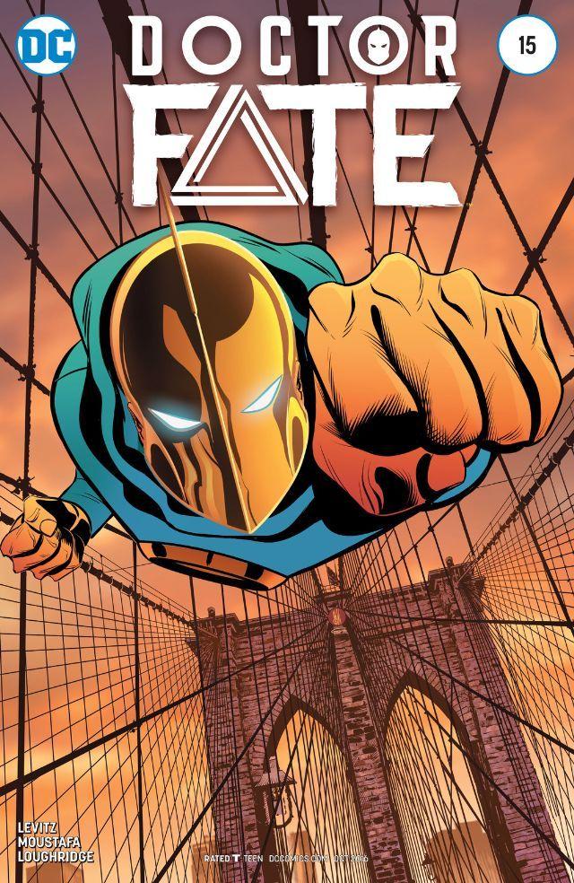 Doctor Fate (2015) #15 #DC @dccomics #DoctorFate (Cover Artist: Eva de la Cruz & Inaki Miranda) Release Date: 8/17/2016