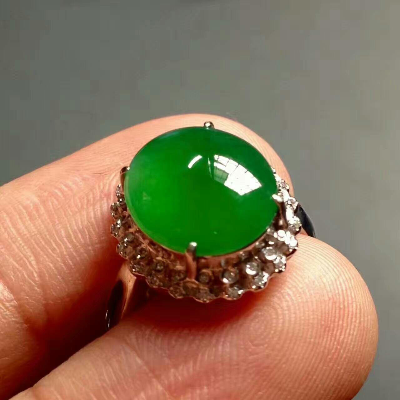 Wedding ring water green emerald chinese jade jewelry real wedding ring water green emerald chinese jade jewelry aloadofball Choice Image