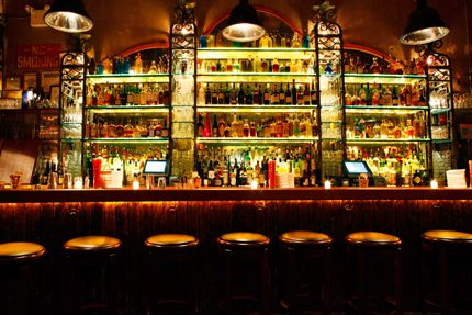Attractive Bar At Macao Trading Company   NYC