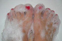Foot discomfort in diabetics is from neuropathy, or damage to the nerves in the foot. Usually diabetic neuropathy results in numbness, to the...