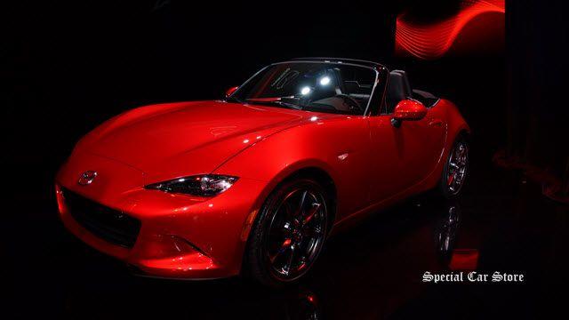 2016 Mazda MX-5 Miata at LA Auto Show 2014: http://www.specialcarstore.com/content/beauties-dbeats-la-auto-show-2014