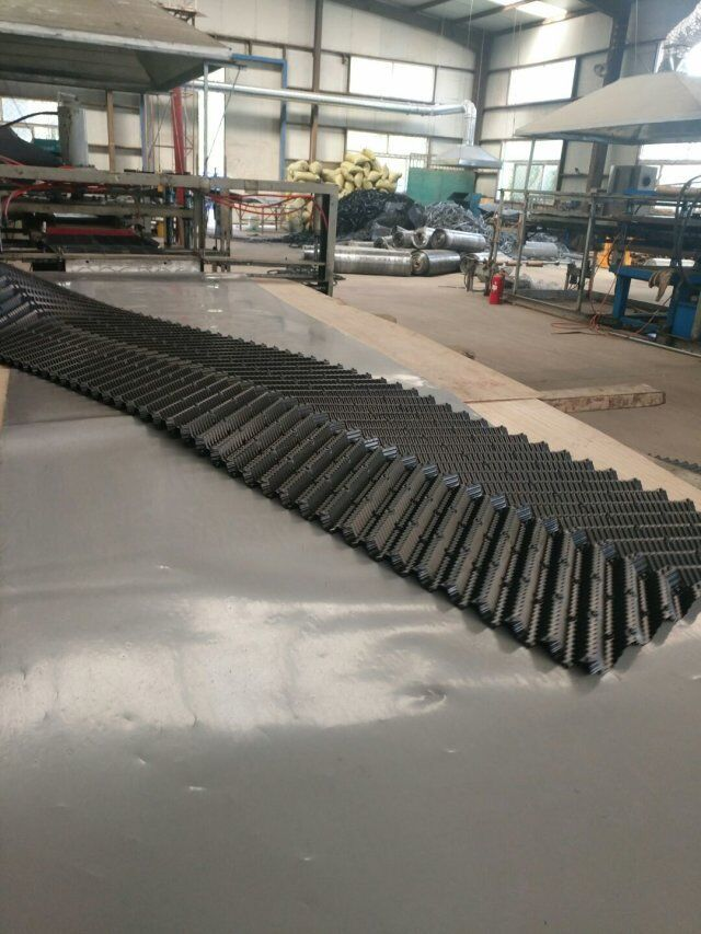 Production Line For Cooling Tower Fills Cooling Tower Tower