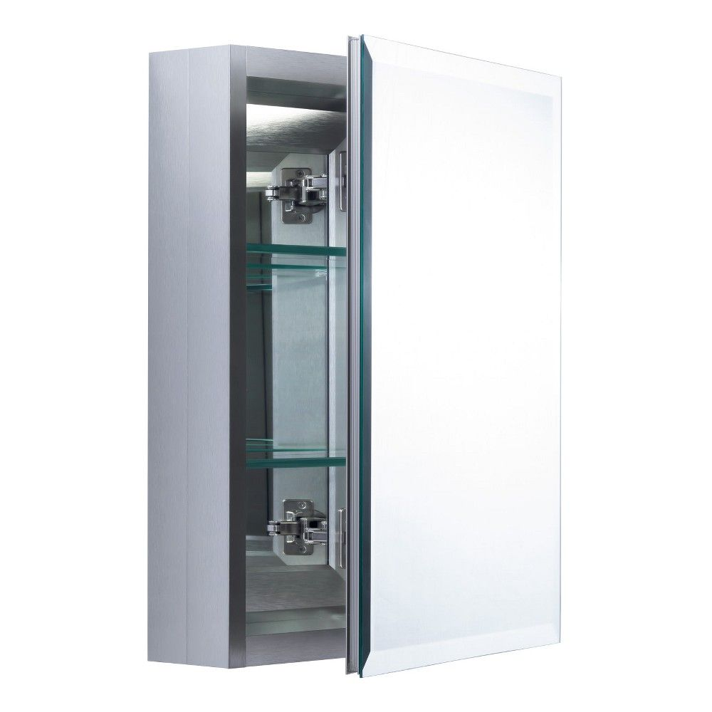 Miseno Mbc2016 Dual Mount 20 Quot X 16 Quot Beveled Medicine Cabinet Surface Or Recessed Mou