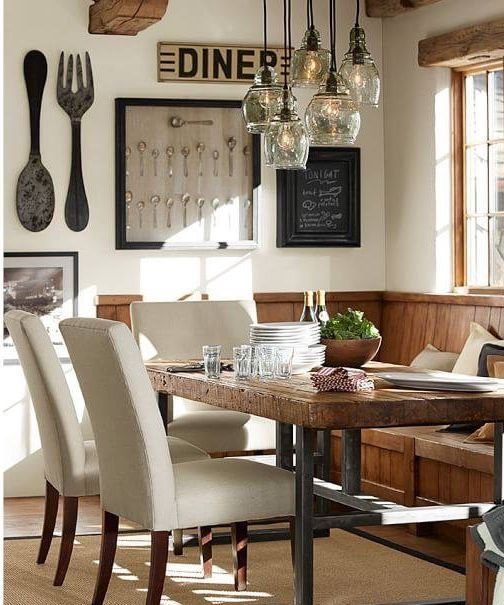 Pinif On Dining Room  Pinterest  Room Dining And House Fair Dining Room Pottery Barn Design Inspiration