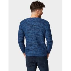 Photo of Tom Tailor Herren Melierter Pullover, blau, unifarben, Gr.S Tom TailorTom Tailor