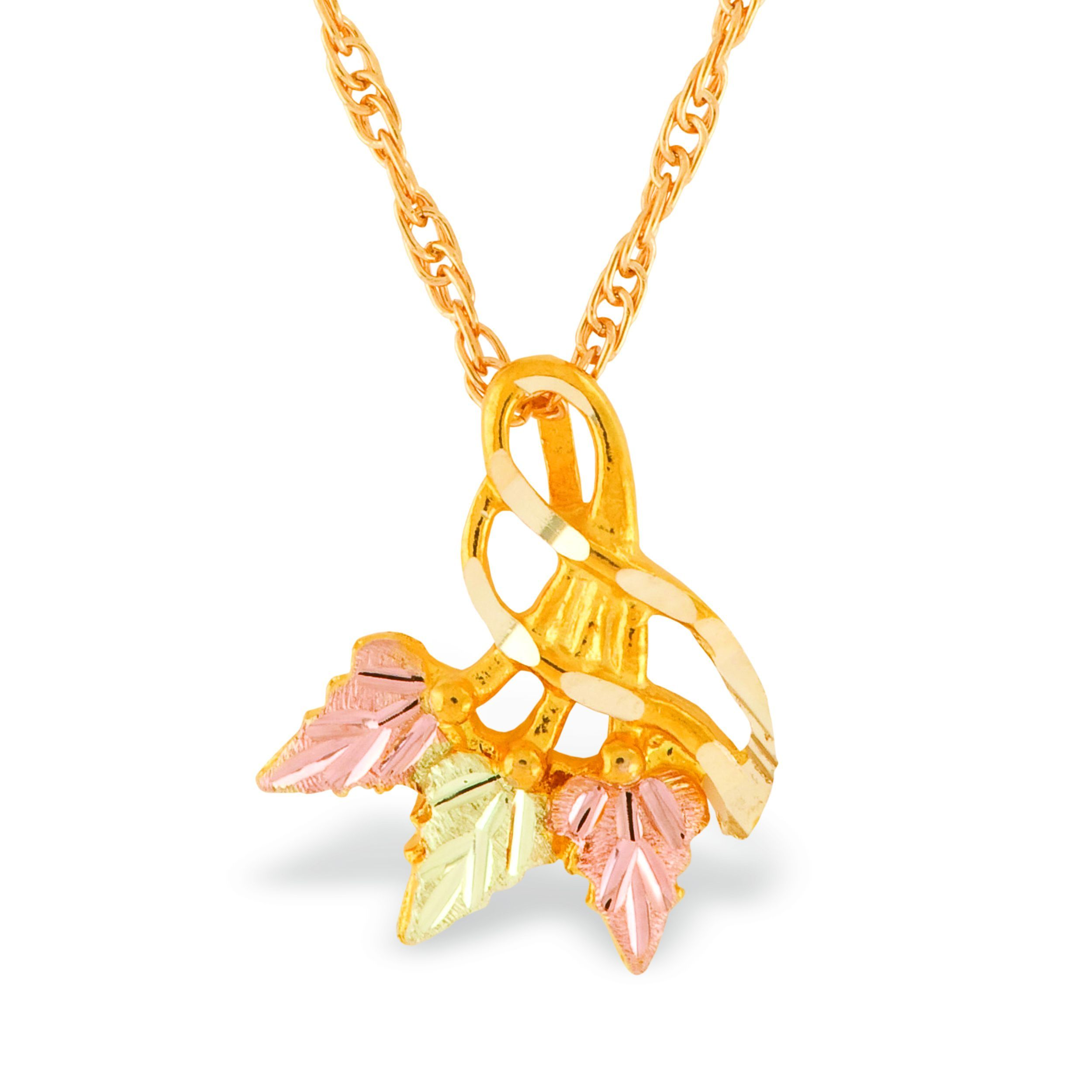 white cubic yellow necklace mary of zirconia solid set pendant charm tri virgin fullxfull listing tricolor il color rose gold lady guadalupe singapore chain