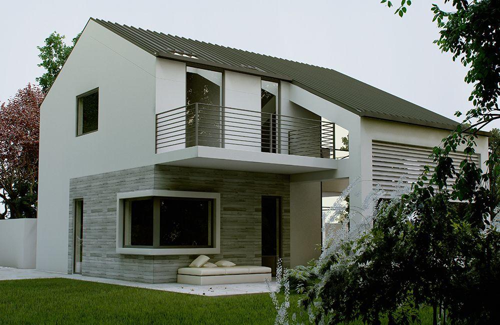 Villa prefabbricata in provincia di milano mi case for Ville classiche moderne