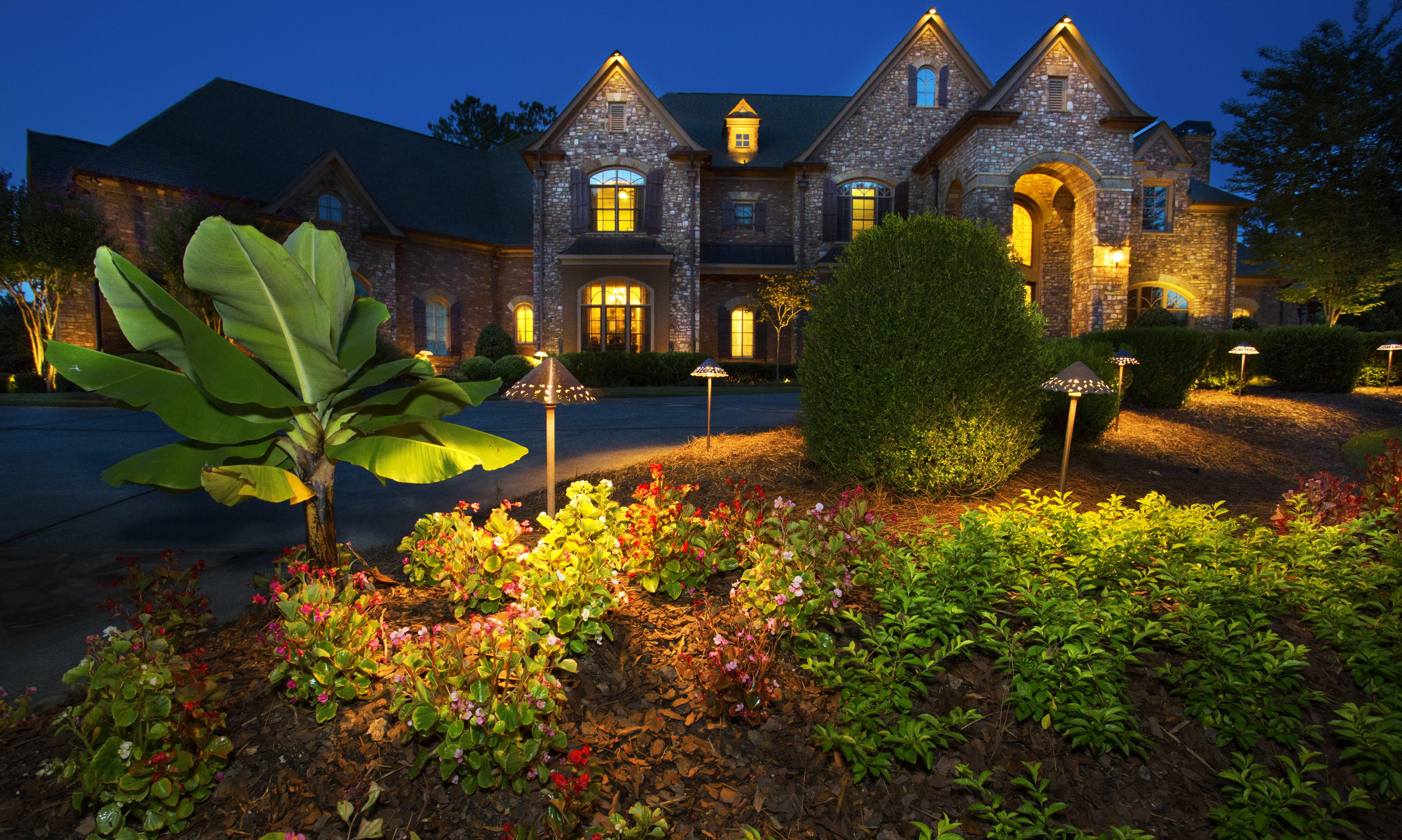 Garden lighting at its best call for information on lighting packages lightsoveratlanta