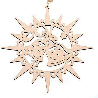 Dekoration Sterne Holz Glocken Sterne Holz Laubsage Vorlagen Weihnachten Weihnachten Holz