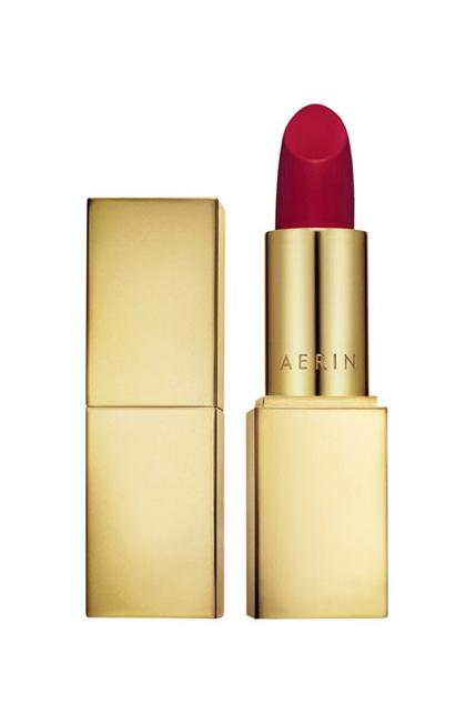 AERIN Lipstick in Red Velvet.