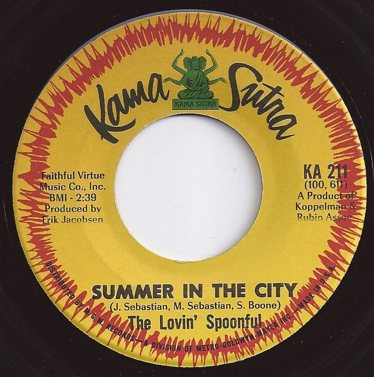 1 On Billboard Summer In The City Lovin Spoonful With Images The Lovin Spoonful Music Memories Oldies Music