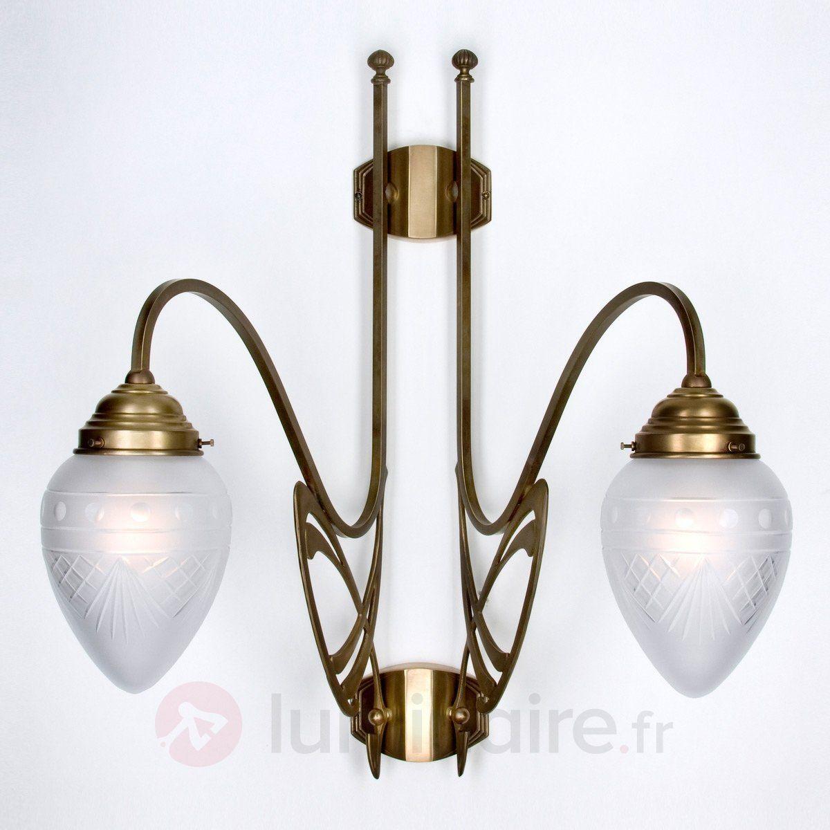 Applique Murale 2 En À LaitonLight Vienne Lampes Lampe 6bgyYf7