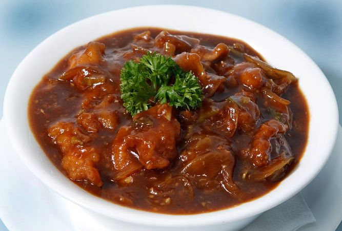 Omg hmmm yummy my most favi chicken manchurian foods i food and drinks how to make indo chinese dish chicken manchurian forumfinder Image collections