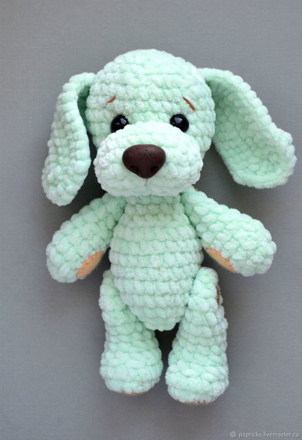 Crochet Dog Crochet Inspiration Pattern Cutie Pie собака вязание