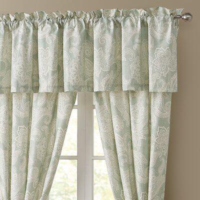 Mahtomedi Floral 50 Curtain Valance Valance Classic Curtains