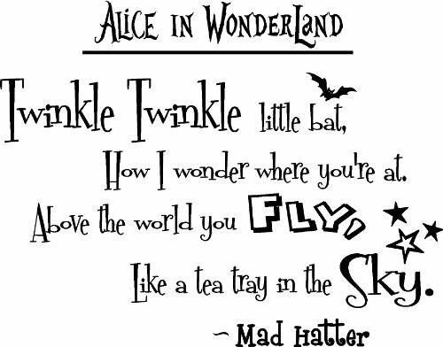 Mad Hatter Quotes Mad Hatter Quote Alice In Wonderland Pinterest  Mad Hatter