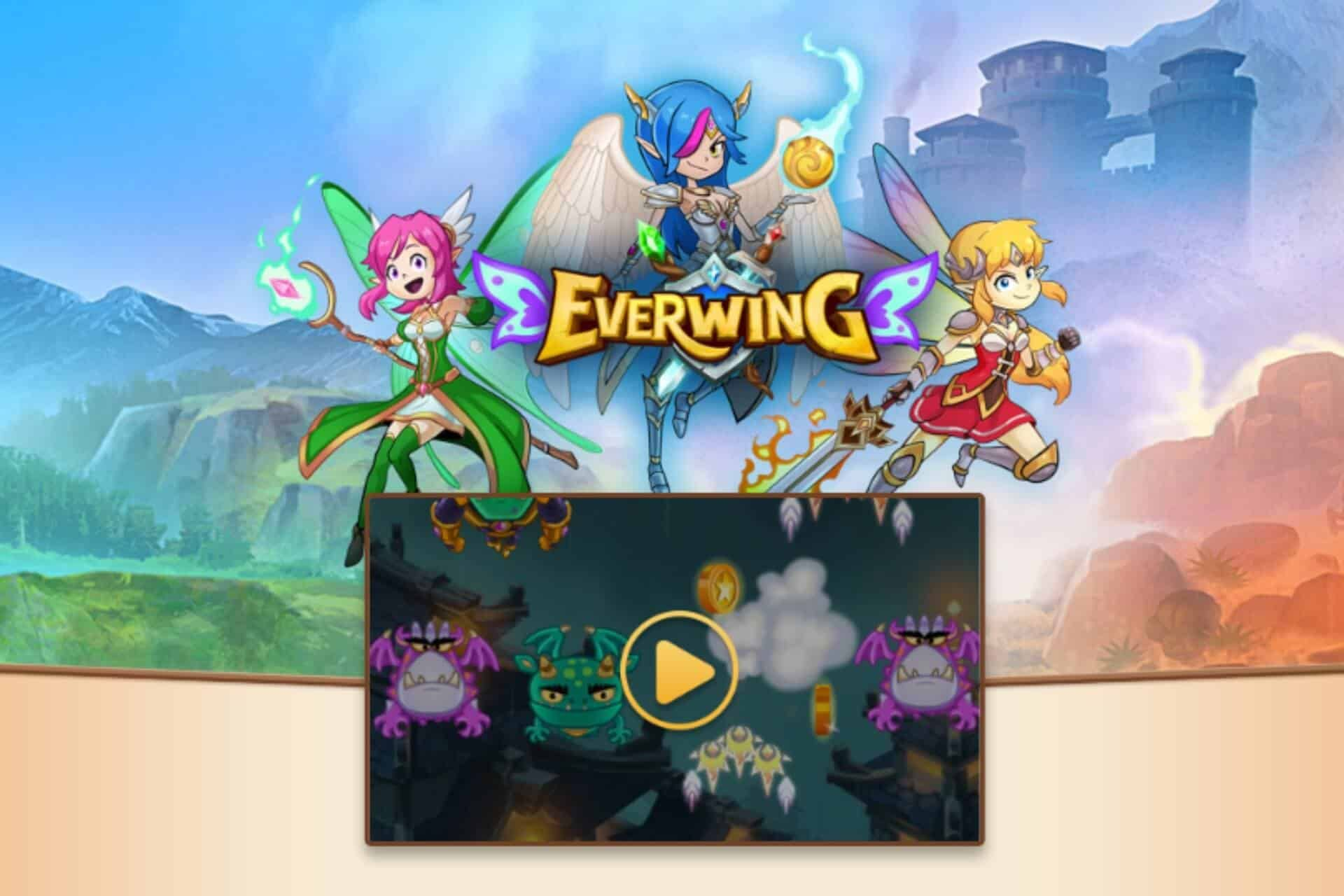 For two years now, EverWing has dominated play on Facebook