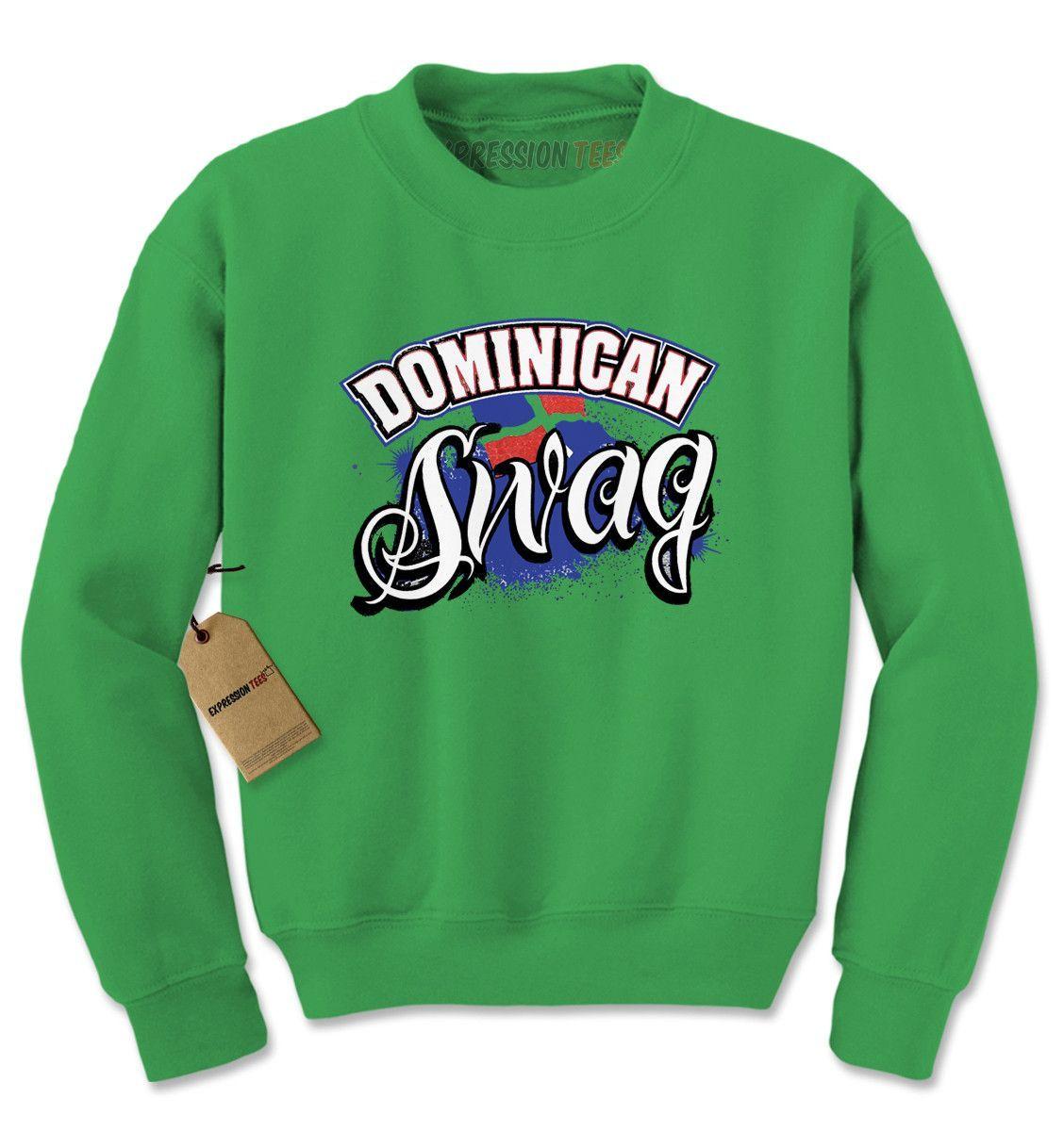 421242c655ac Dominican Swag Adult Crewneck Sweatshirt