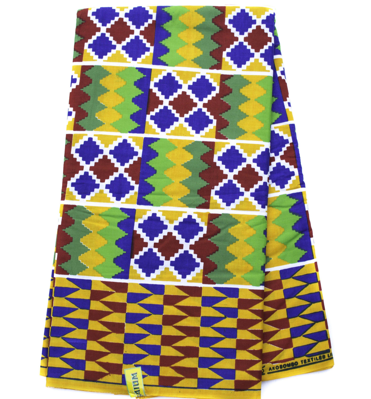 african fabric by the yard made in ghana ghana kente cloth rh pinterest com african kente cloth clip art Kente Cloth Border